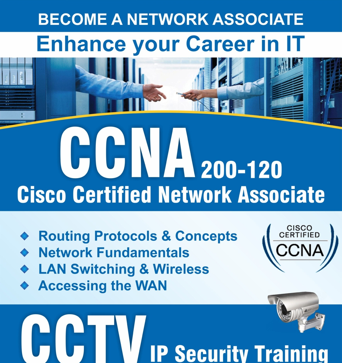6 months ccna training companies in noida